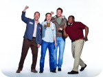 """Sullivan & Son"" Cast: (L to R): Ahmed Ahmed, Steve Byrne, Owen Benjamin, Roy Wood Jr."