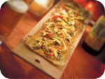 Chicken Flatbread at Seasons 52