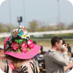 Hat at Illinois Derby at Hawthorne Race Course